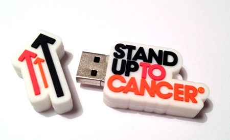 Custom Shape Logo USB