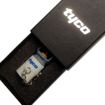 USB packaging with foam insert